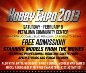 2013-02-09, Hobby Expo, Petaluma CA