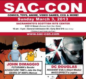 2013-03-03, Sac Con, Sacramento CA