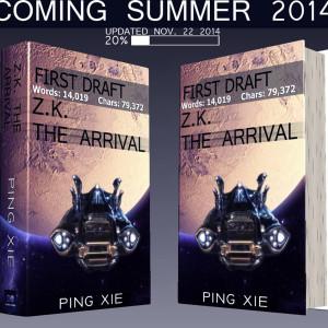 Z.K. The Arrival – Novel